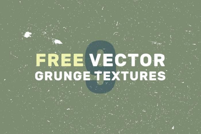 9 Free Vector Grunge Textures (.Ai + .Eps) скачать бесплатно