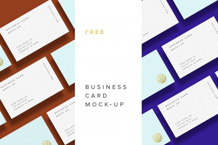 Business Card Mockup (.Psd) скачать бесплатно