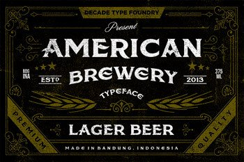 01_american-brewery-rough-free-font
