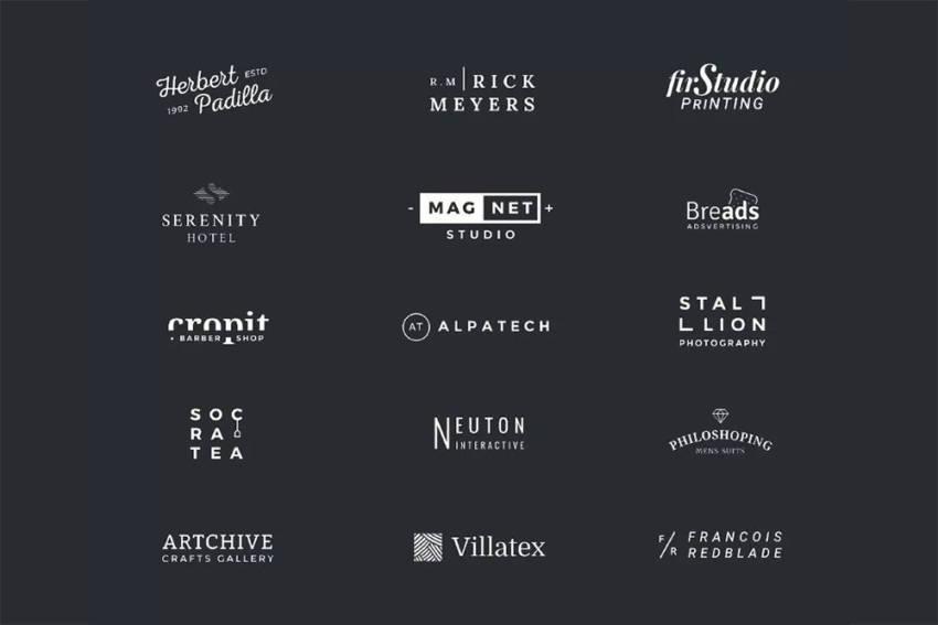 Minimal Logo Templates (.Psd) скачать бесплатно