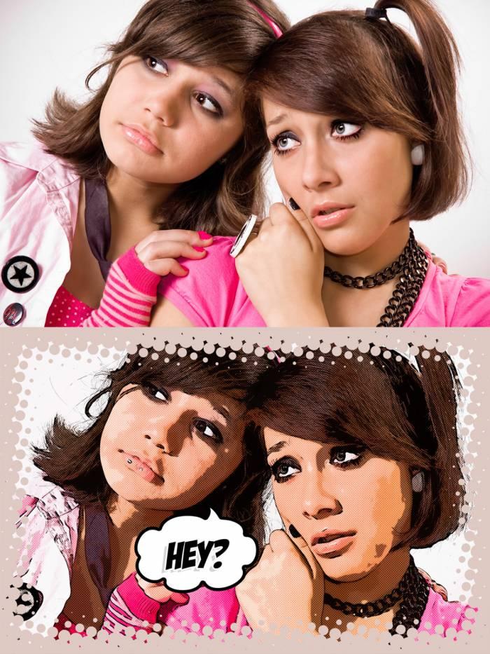 EasyComic Photoshop Action (.Psd + .Atn) скачать бесплатно