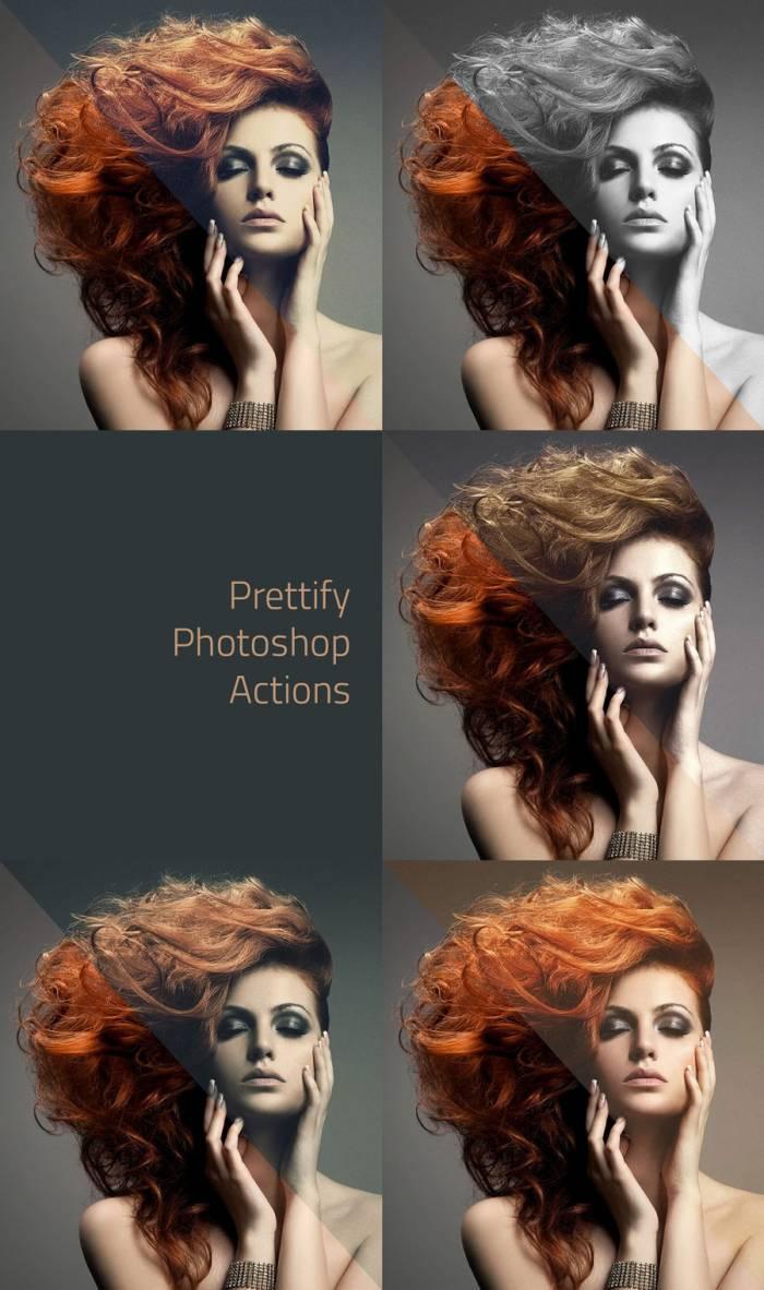 Prettify Photoshop Actions (.Atn) скачать бесплатно