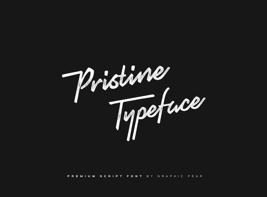 Шрифт Pristine скачать бесплатно