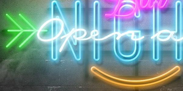 Free Neon Mockup Styles (.Psd) скачать бесплатно