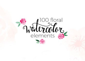 100-Free-Watercolor-Floral-Elements_min