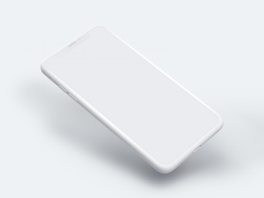 iPhone X Mockup (.Psd) скачать бесплатно