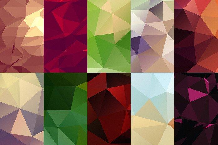 10 Geometric Backgrounds (.Jpg) скачать бесплатно