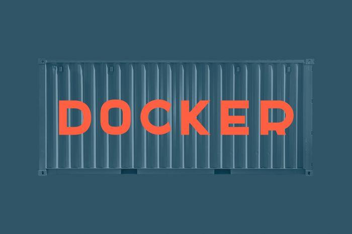 Шрифт Docker скачать бесплатно