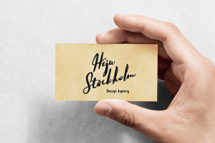 Шрифт Hello Stockholm скачать бесплатно