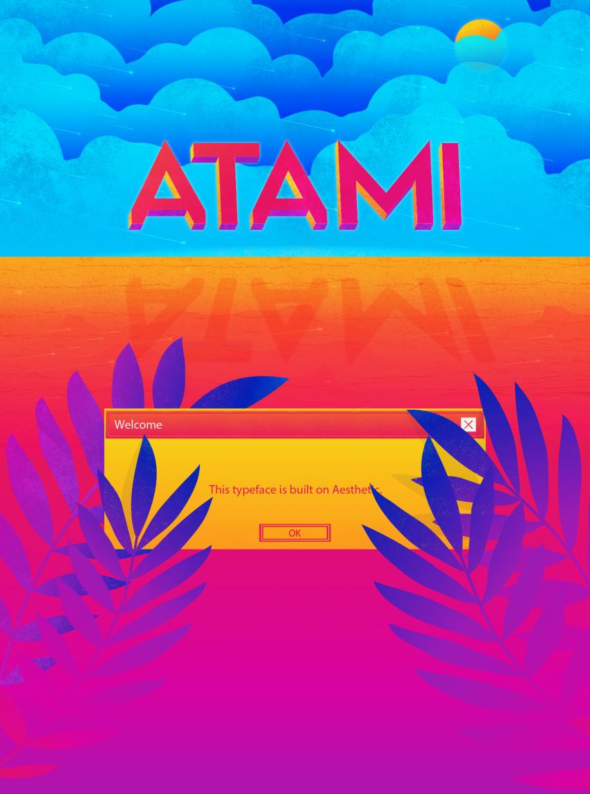Шрифт Atami скачать бесплатно