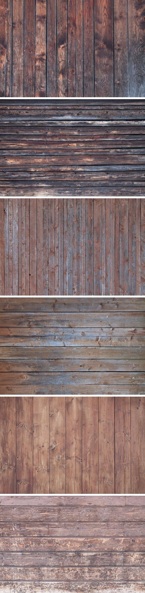 6 Vintage Wood Textures (.Jpg) скачать бесплатно