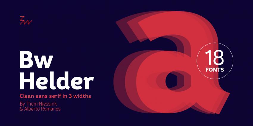 Шрифт Bw Helder скачать бесплатно