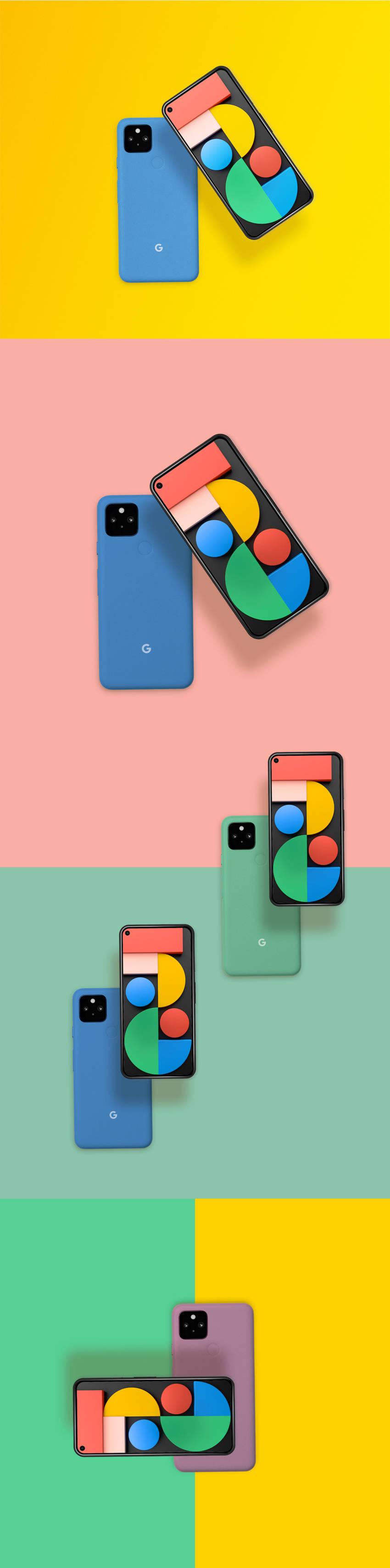 Google Pixel 5 Mockup (.Psd) скачать бесплатно