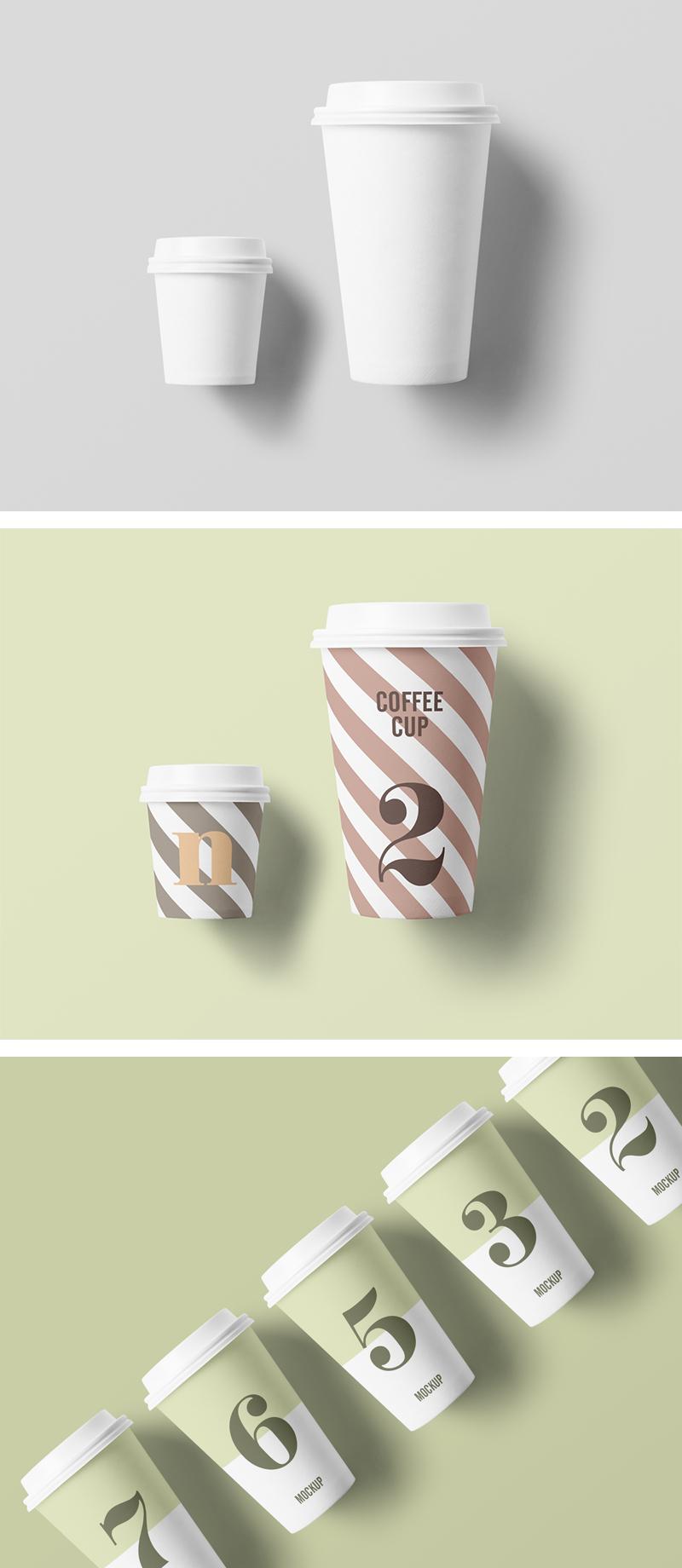 Free Paper Cup Mockup (.Psd) скачать бесплатно