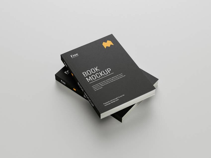 Free book mockup (.Psd) скачать бесплатно