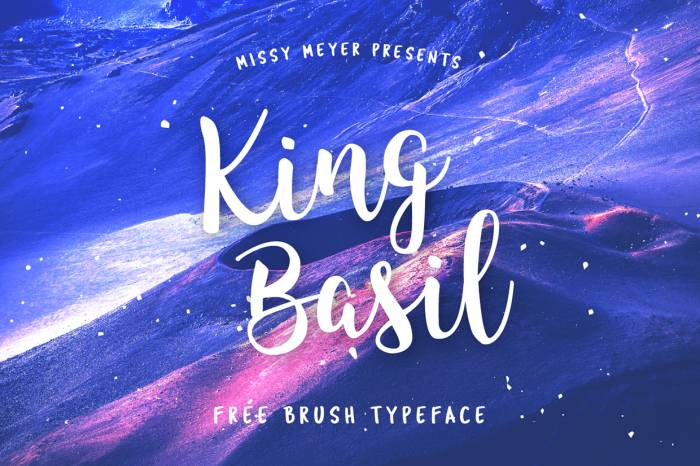 Шрифт King Basil скачать бесплатно