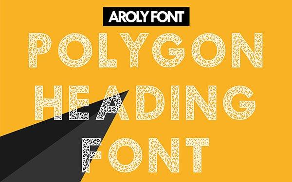 Шрифт Aroly скачать бесплатно