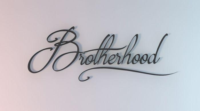 Шрифт Brotherhood Script скачать бесплатно