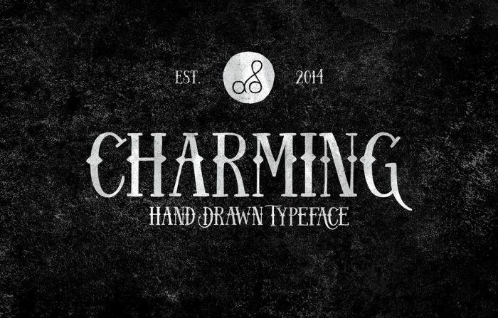 Шрифт Charming скачать бесплатно
