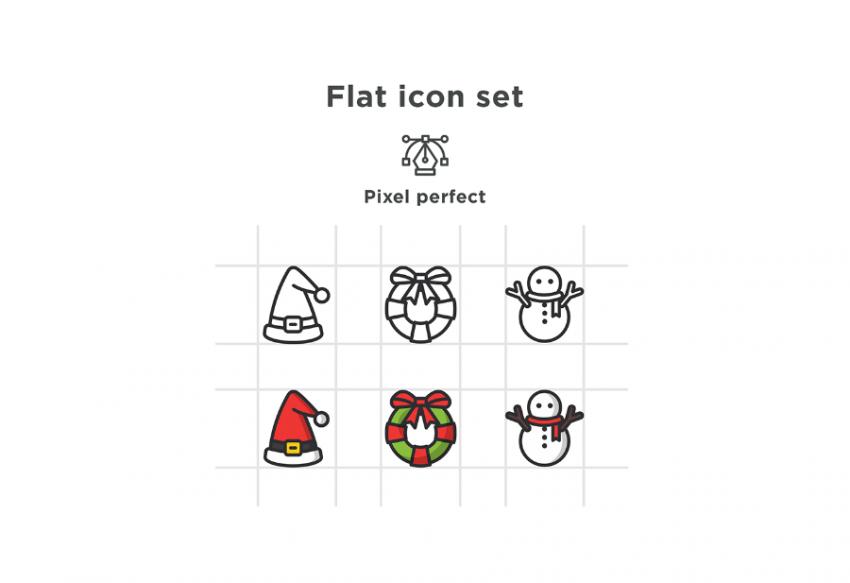 Free Christmas Special Icon Pack (.Ai + .Sketch) скачать бесплатно