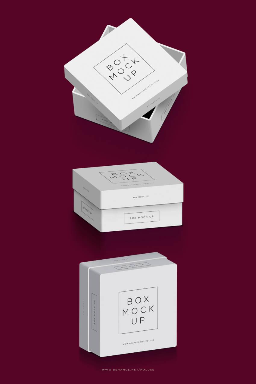 Packaging Box Mockup (.Psd) скачать бесплатно