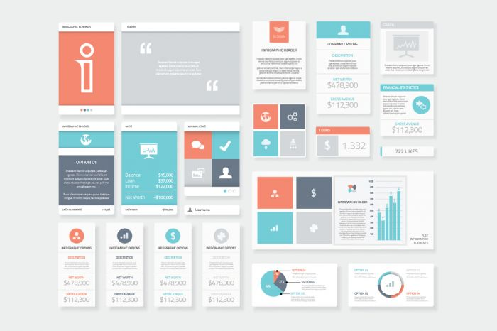 Clean and Fresh Infographic Elements (.Ai + .Eps) скачать бесплатно