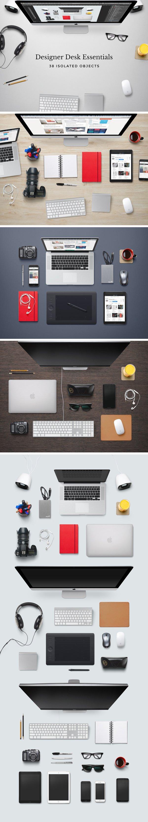 Designer Desk Essentials (.Psd) скачать бесплатно