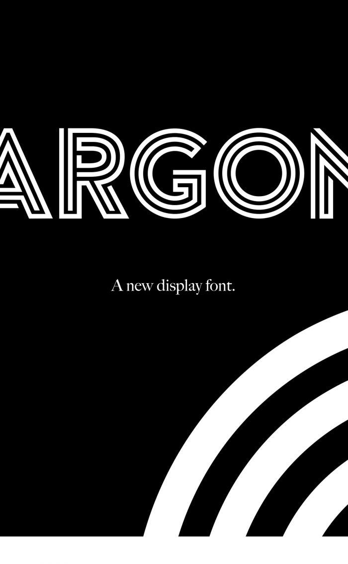 Шрифт Argon скачать бесплатно