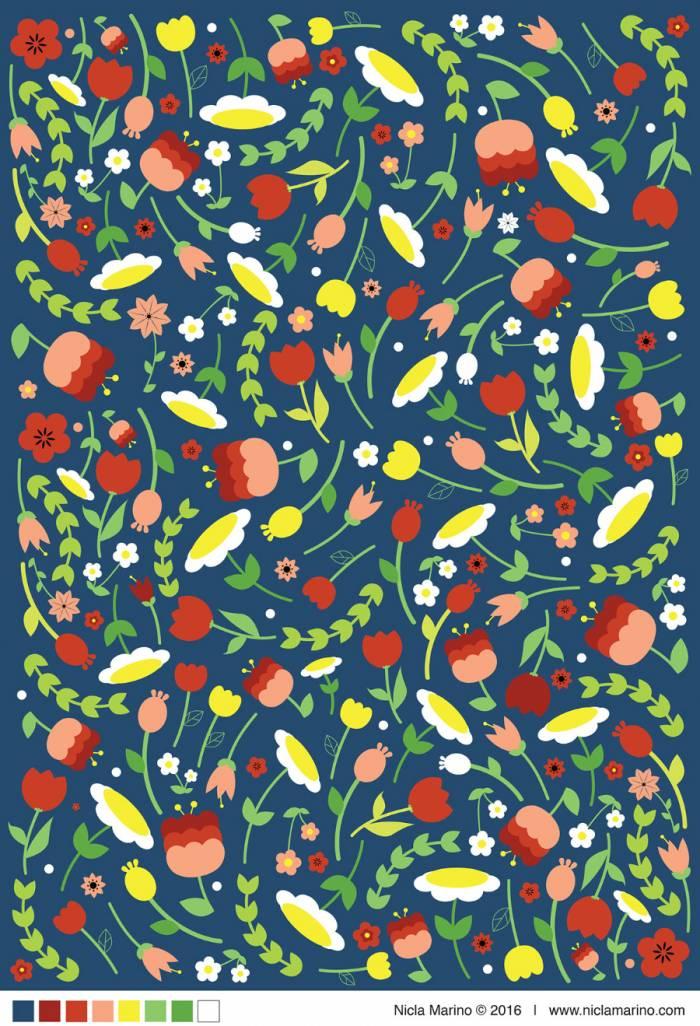 Floral Patterns (.Pdf + .Jpg) скачать бесплатно