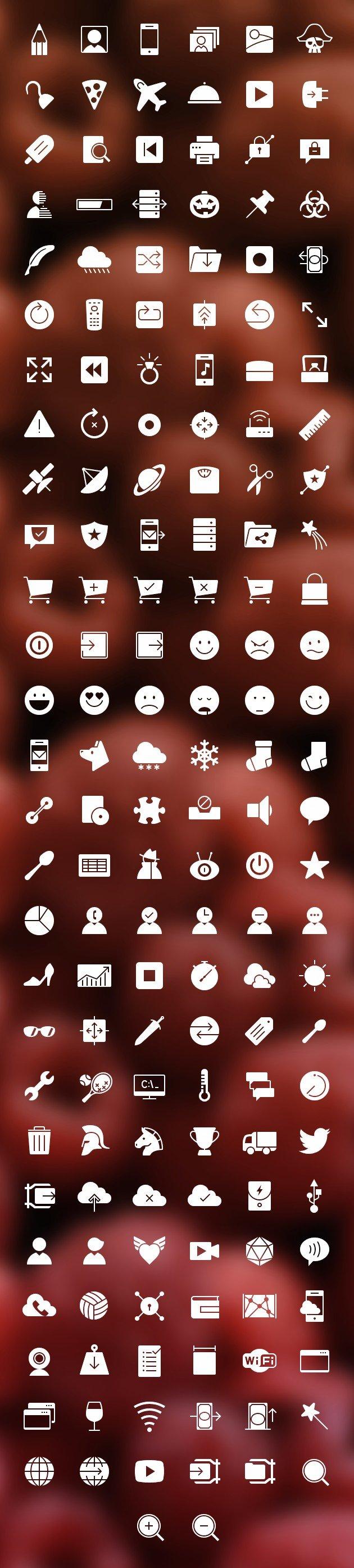 12 000 Outlined Icons (.Psd + .Png) скачать бесплатно