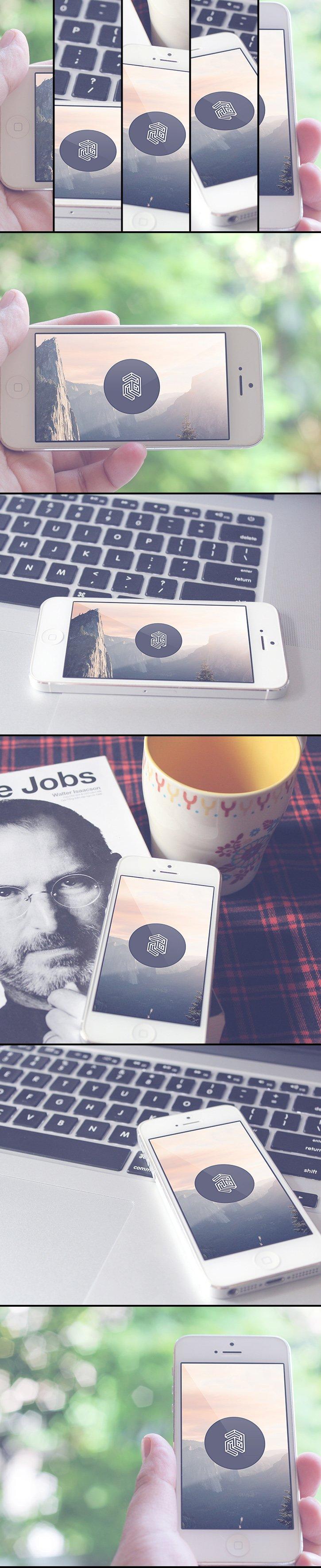 Mockup iPhone 5 (.Psd) скачать бесплатно