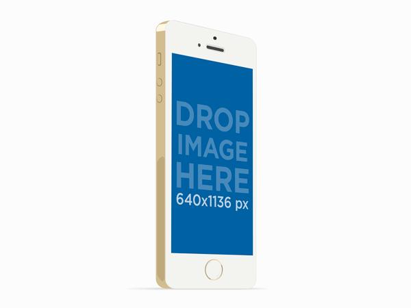 Iphone-5s-Gold-Mockup