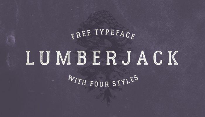 Шрифт Lumberjack скачать бесплатно