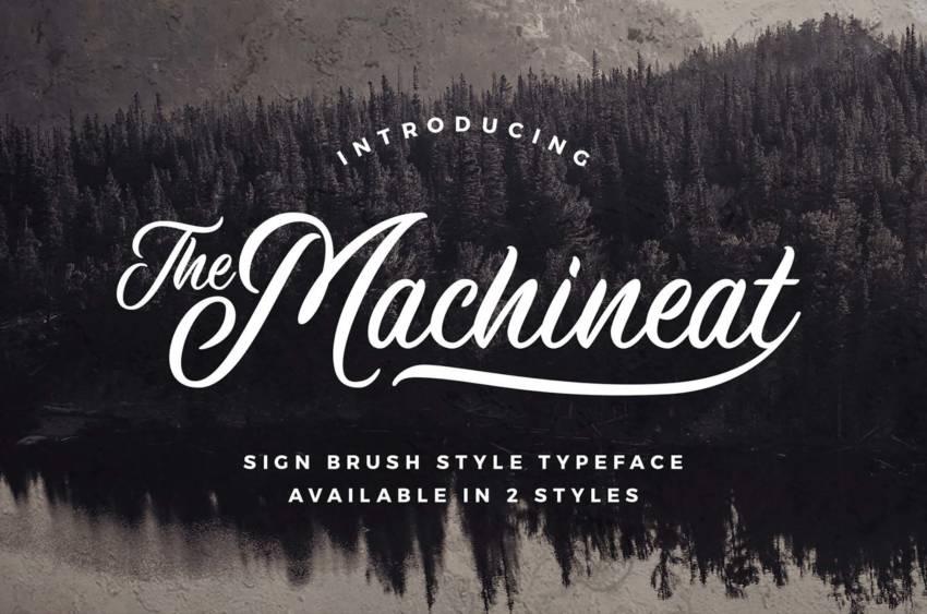Шрифт Machineat скачать бесплатно