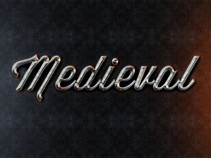 Medieval Text Style (.Psd) скачать бесплатно