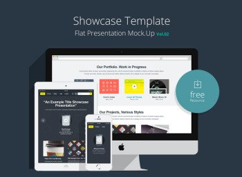 Showcase-Template-Flat-Presentation-Vol-2
