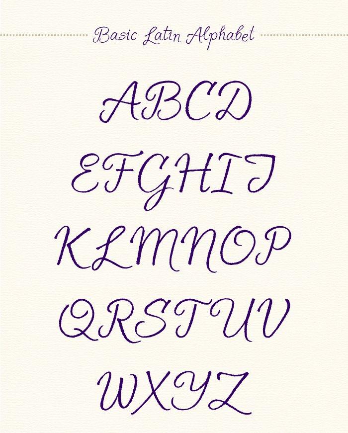 Шрифт Solena Script скачать бесплатно