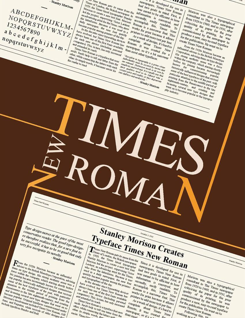 Шрифт Times New Roman скачать бесплатно