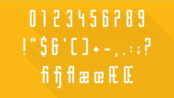 Шрифт Borg скачать бесплатно
