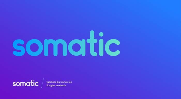 Шрифт Somatic скачать бесплатно