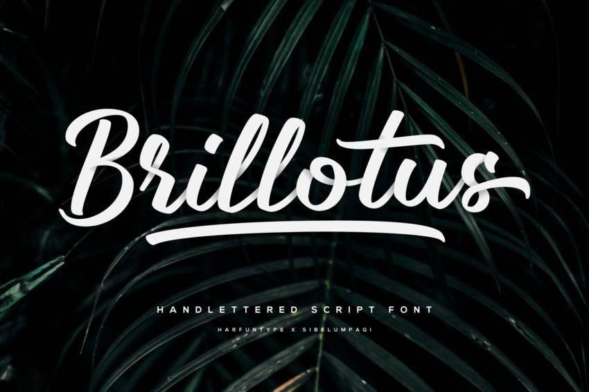 Шрифт Brillotus скачать бесплатно