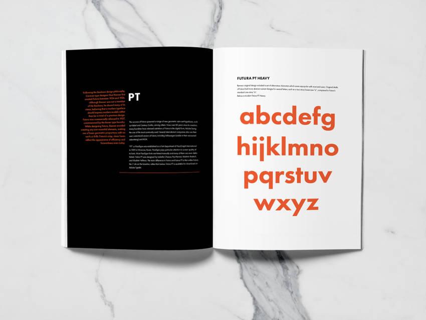 Шрифт Futura PT скачать бесплатно