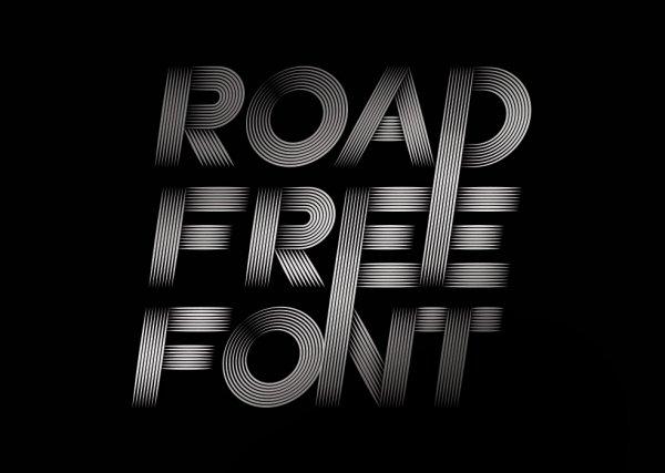 Шрифт Road скачать бесплатно