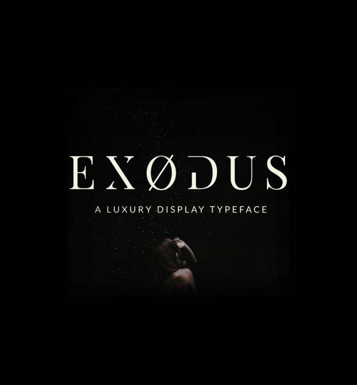 Шрифт Exodus скачать бесплатно