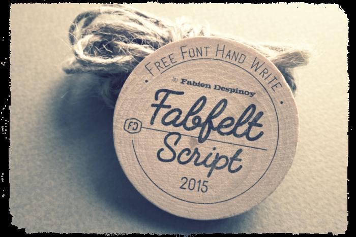 Шрифт Fabfelt Script скачать бесплатно