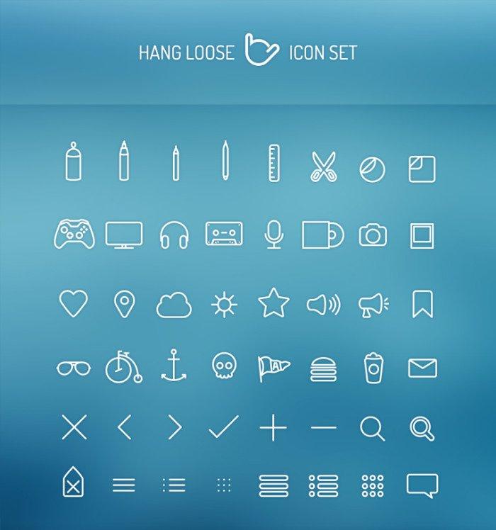 Hangloose иконки (.Psd) скачать бесплатно