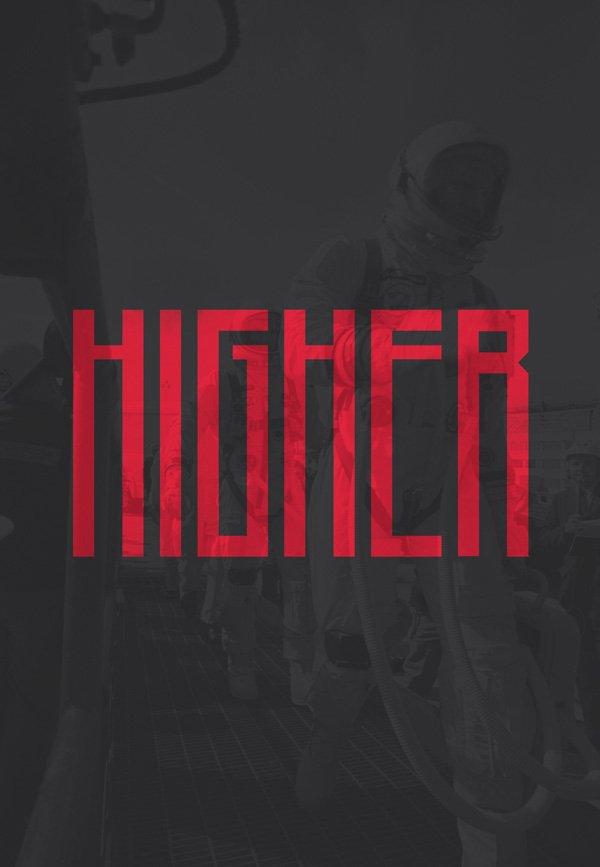 Шрифт Higher скачать бесплатно
