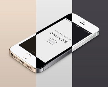 iPhone-5S-mobile-celular-isometric-view-3d-mock-up-psd