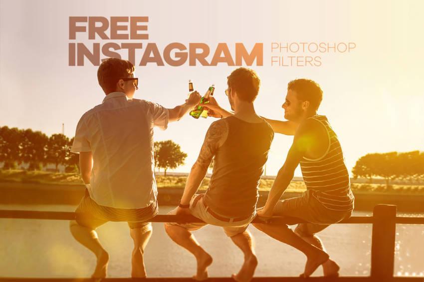 30 Instagram Photoshop Filters (.Atn) скачать бесплатно