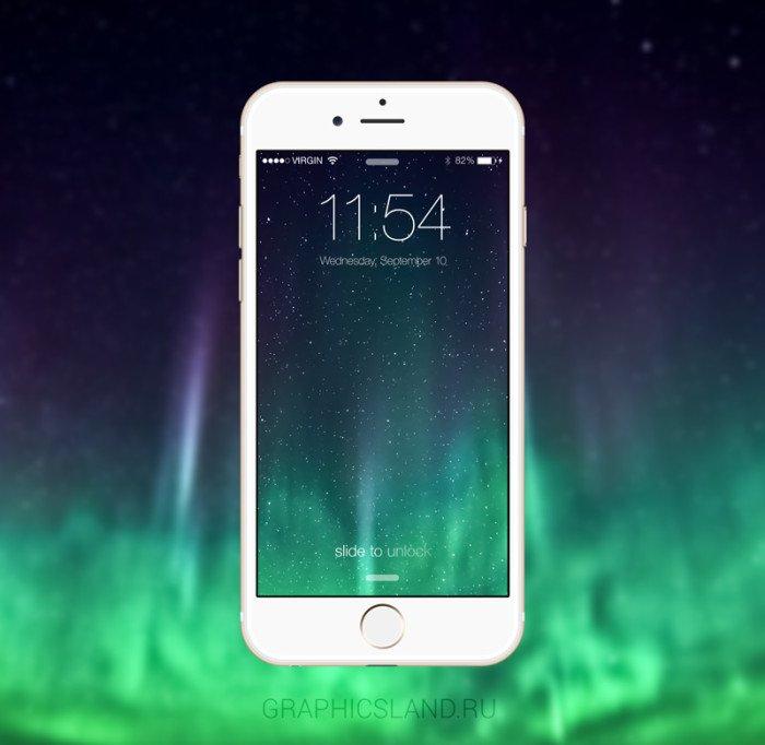 iPhone 6 Mockup (.Psd) скачать бесплатно